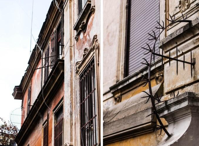 Roma streets