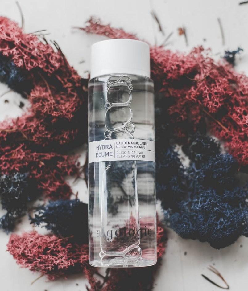 hydra écume eau démaquillante oligo micellaire