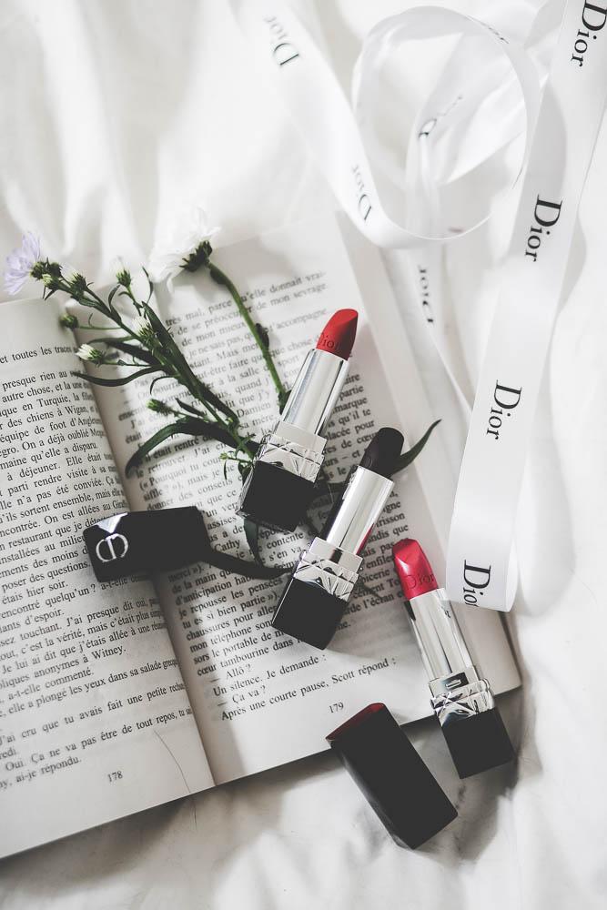 rouges à lèvres dior