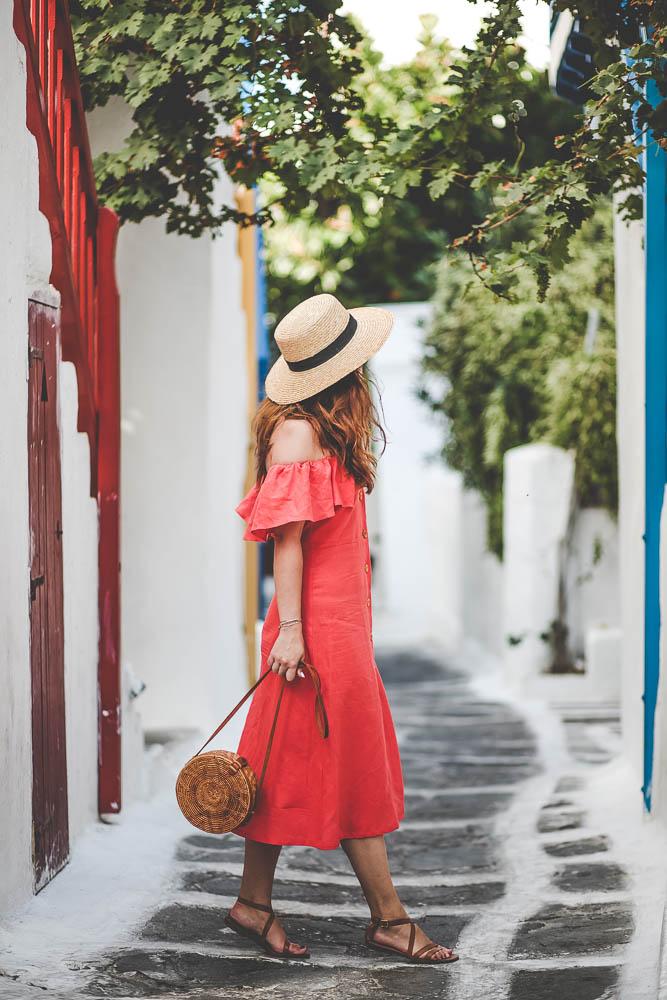 streets mykonos