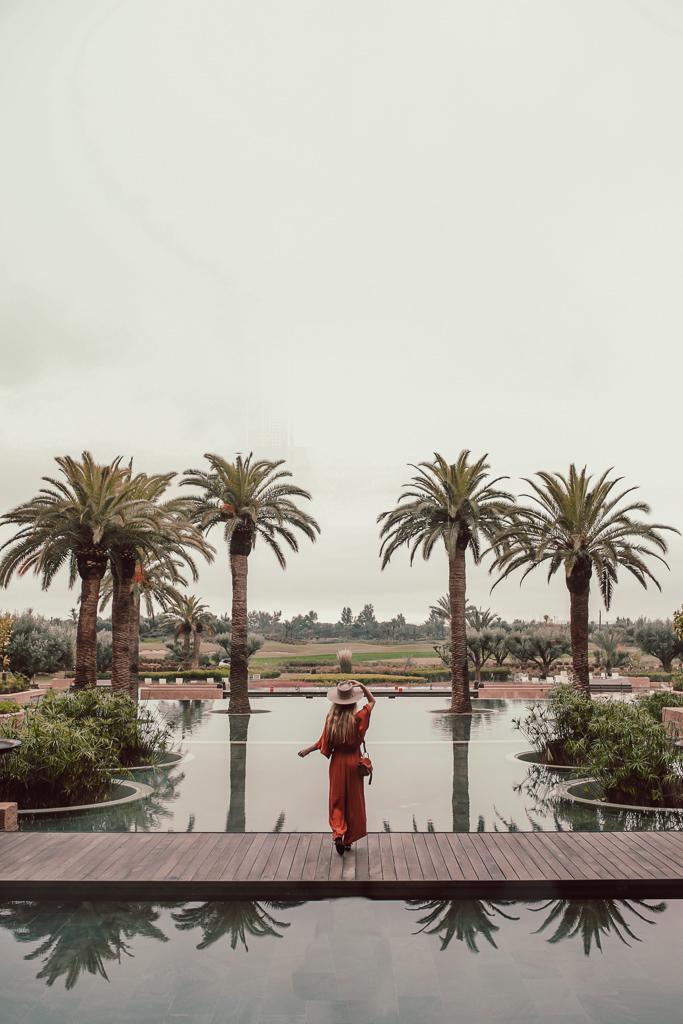 hôtel fairmont royal palm Marrakech