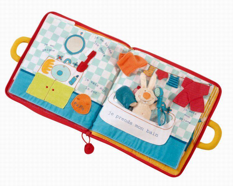 livre bonsoir petit lapin collection lilliputiens 2486 autre img Poupi le lapin et les rituels du soir