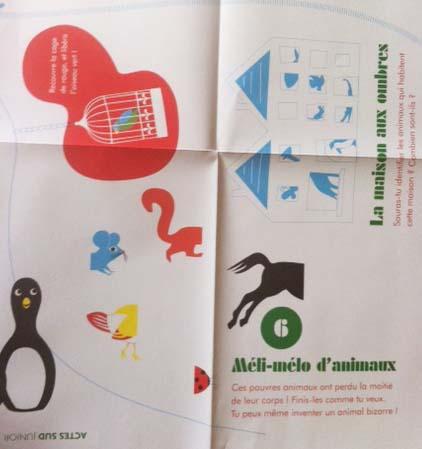 140723 coloriage 3 Tapis dactivités : les animaux par Delphine Chedru