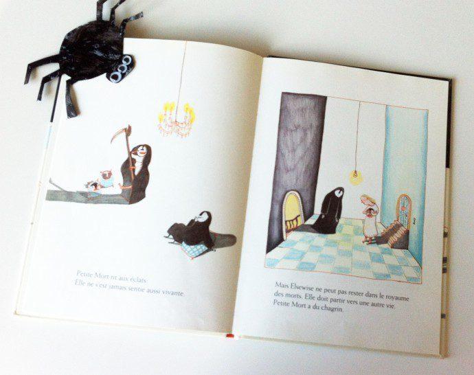 141106 petite mort4 690x546 La question du deuil et de la mort dans les livres pour enfants