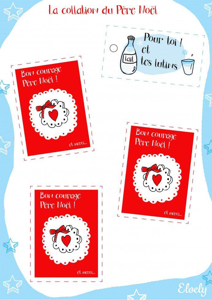 141203 planche collation 690x976 La collation du Père Noël (free printable)