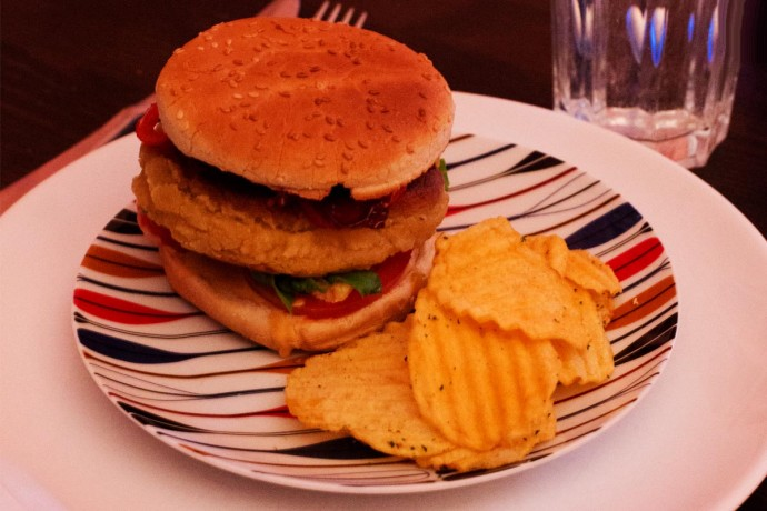 150219 veggieburger 690x460 Ce soir cest Veggie Burger !