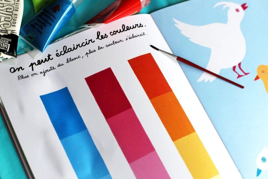 150905 activite couleur Apprendre les couleurs avec le cahier de peinture de Pascale Estellon