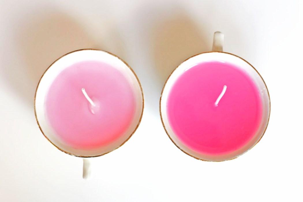 160323 tasse bougie vintage bapteme Détourner ses tasses vintage en bougies