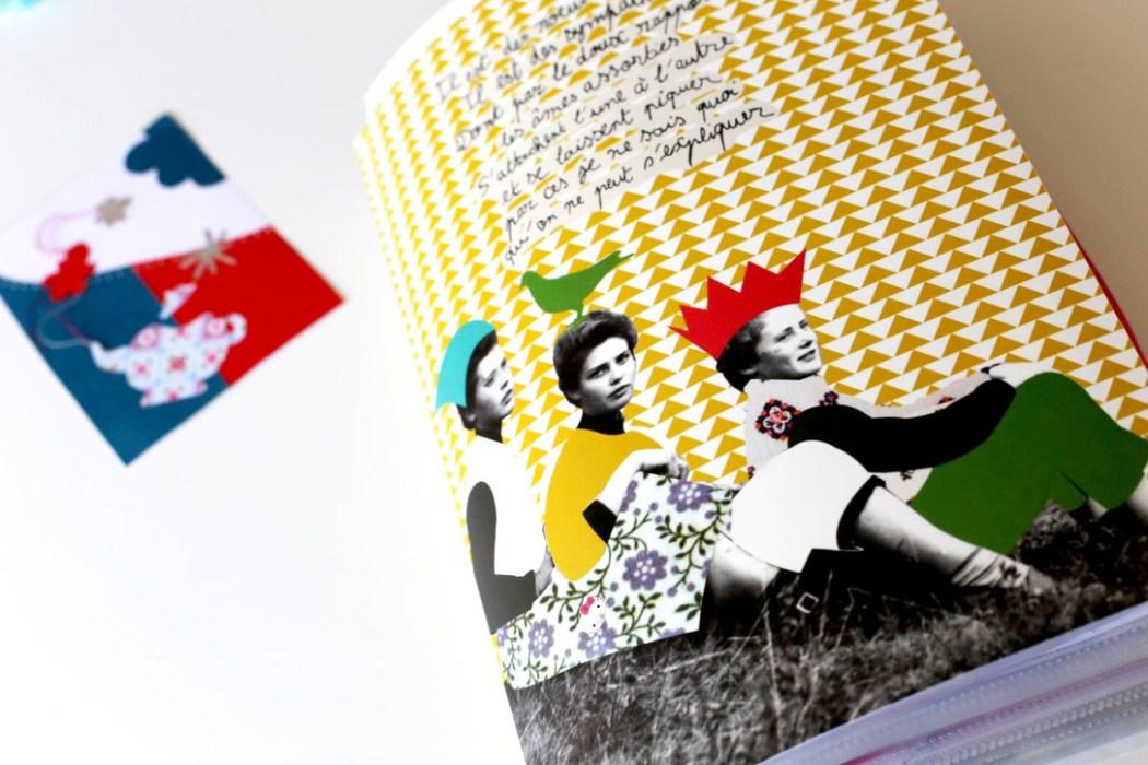 160411 classeur a collages Sur le fil : entre collage et cartes postales (SHYT)