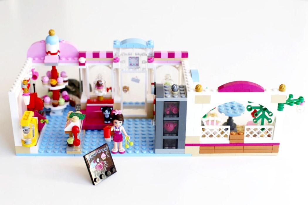 160424 legofriendsboutique cupcake Ca casse les briques : Le cupcake Café d'Heartlake City Legofriends