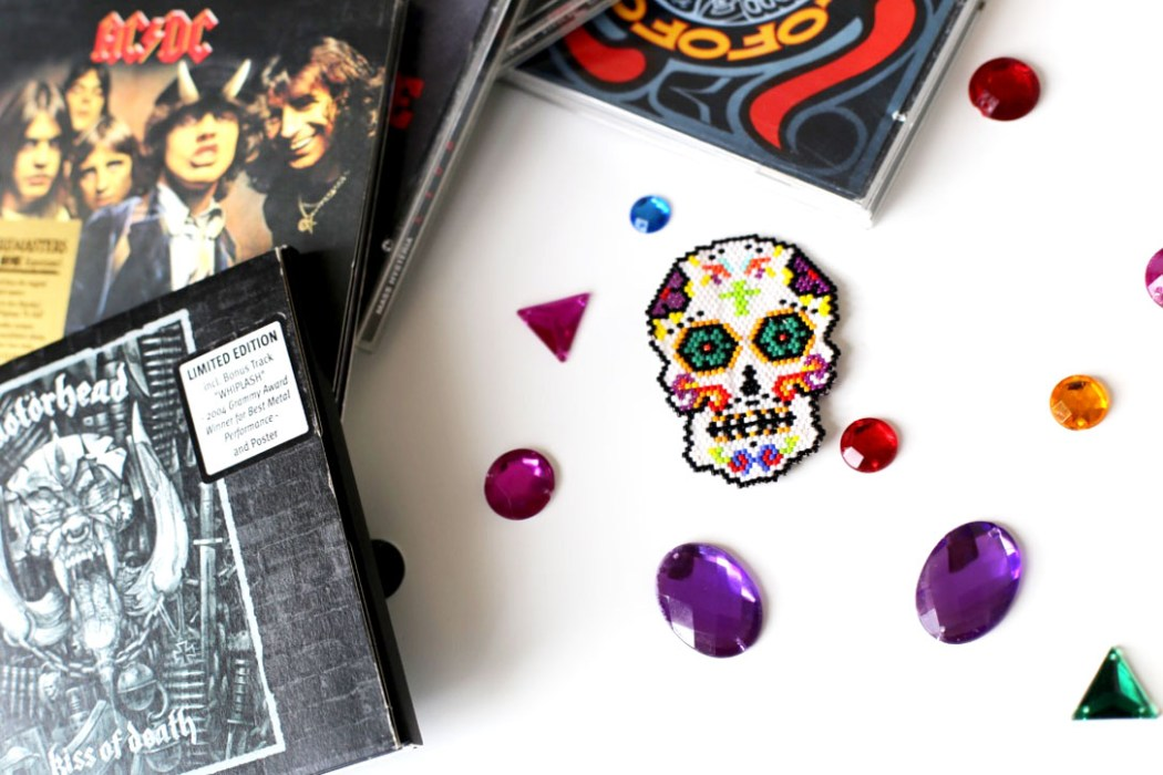 160428 mexican skull beads miyuki 2 Un Mexican Skull Patch pour le Hellfest
