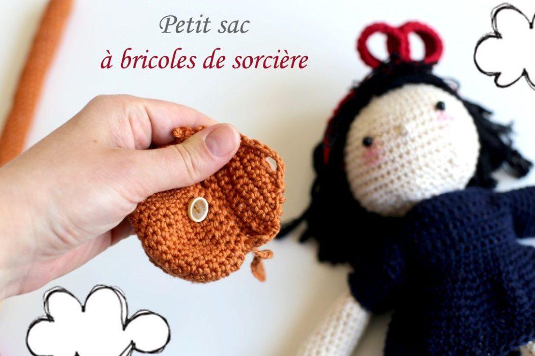 160508 kiki la petie sorciere crochet Une poupée Kiki la petite sorcière au crochet