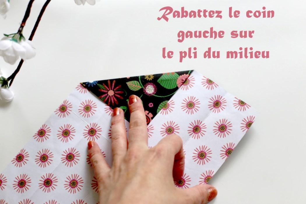 160613 origami etape 2 Fabriquer son étui à baguettes avec Madame Mo (Origami)
