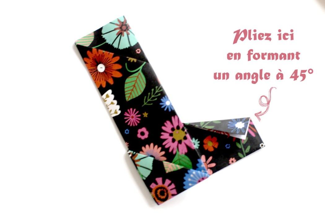 160613 origami hashi bukuro Fabriquer son étui à baguettes avec Madame Mo (Origami)