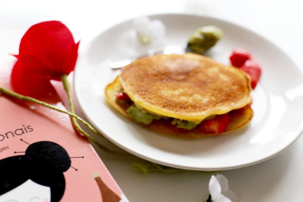 160614 ichigo dorayaki 3 Dorayaki à la crème de thé vert Macha et aux fraises
