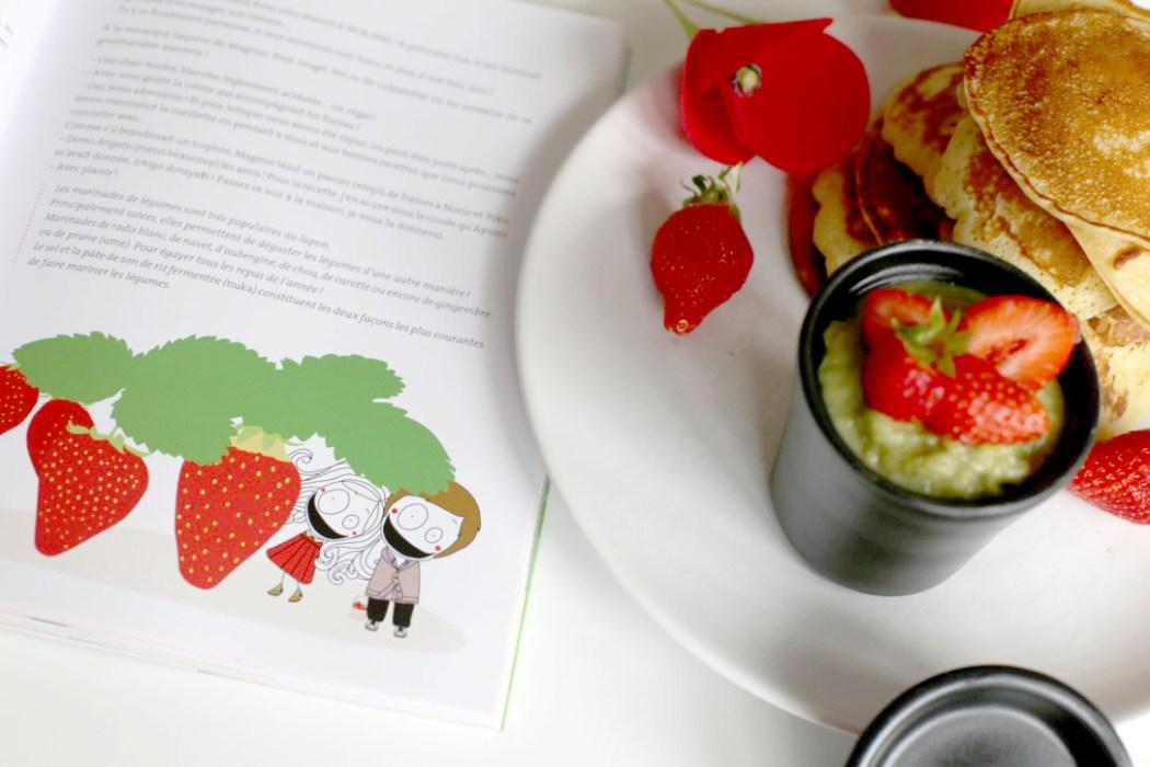 160614 madame mo dorayaki matcha Dorayaki à la crème de thé vert Macha et aux fraises