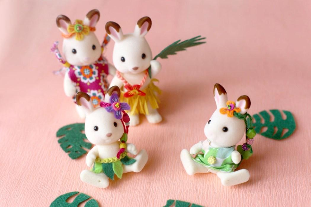 160623 hawaii famillle lapin chocolat sylvanian 2 Bons baisers dAloha... signé la famille Lapin Chocolat (DIY)