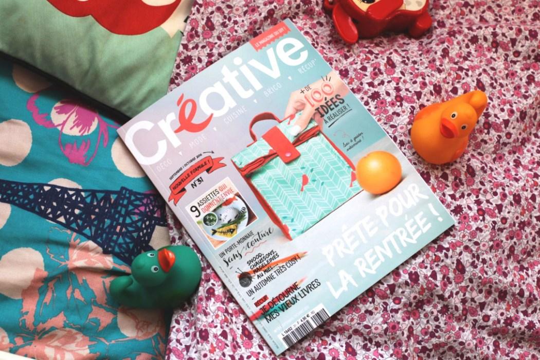 160919 creative magazine Concentré de vie #40