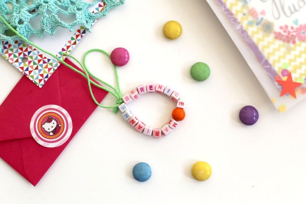 161019 bracelet amitie diy Un cahier de souvenirs pour dire au revoir