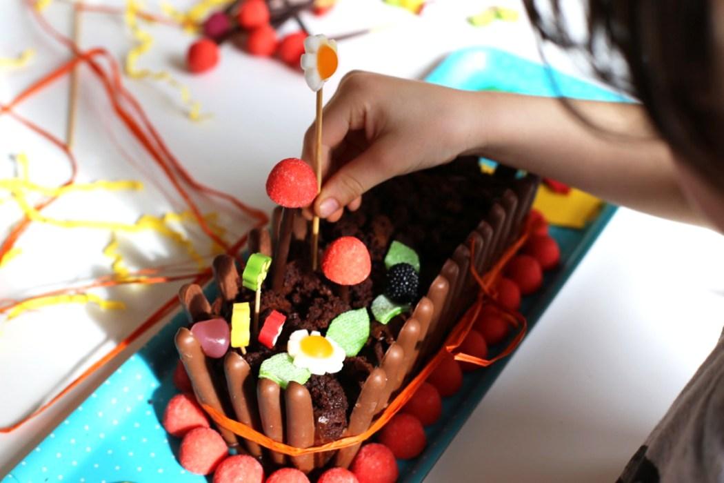 170315 gateau du jardnier Le gâteau jardinier (pour se préparer à accueillir le lapin de Pâques)