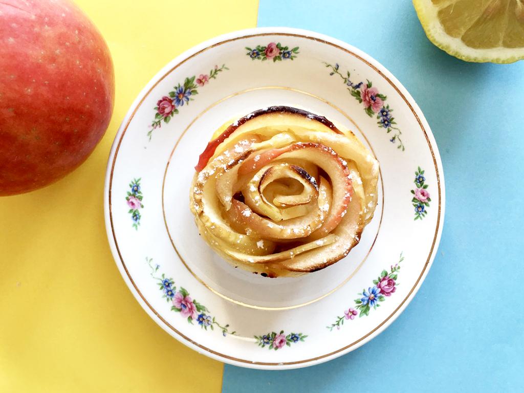 170419 rose tarte lemon curd 3 Citron + Pomme + Mercredi = Des roses tartes au Lemon Curd !