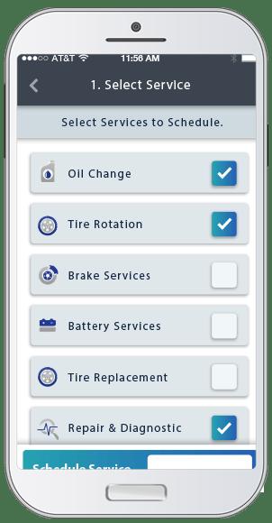 In App Service Calendar - CarRx - Elo GPS