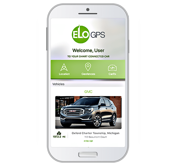 Advanced Connected Car Technology - Elo GPS