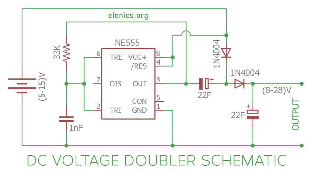 medium resolution of how to build lowpower voltage doubler booster circuit diagram dc converter circuit diagram further dc voltage