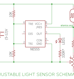 dark detector alarm circuit diagram using ldr and 555 timer ic darkness detecting led using 555 timer ic circuit diagram [ 1200 x 1015 Pixel ]