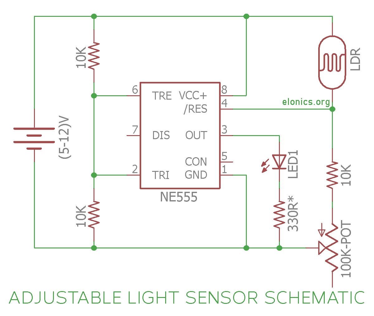 hight resolution of ne555 photocell circuit diagram wiring diagram used ne555 photocell circuit diagram