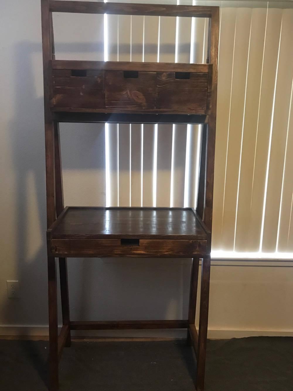 shelf units living room zebra print set ross ladder desk and – elon's