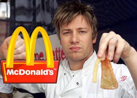 McDonald's pierde la pelea con el chef Oliver