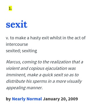 sexit