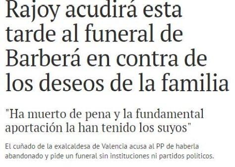 rajoy funeral rita