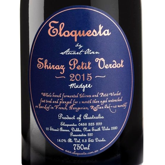 Eloquesta 2015 Shiraz Petit Verdot Red Wine