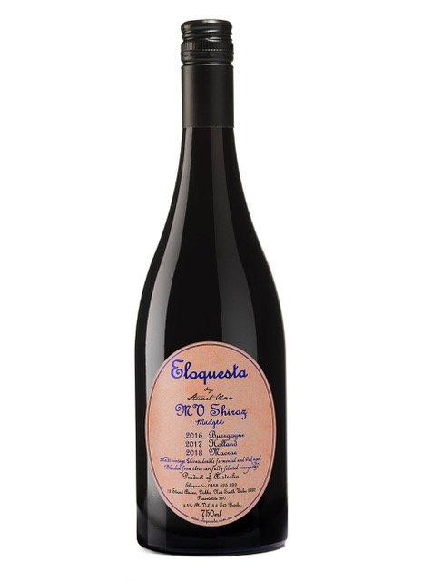 Eloquesta Multi Vintage (MV) Shiraz - bottle
