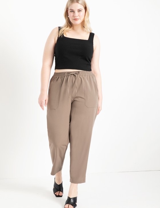 Relaxed Pant with Patch Pockets 1