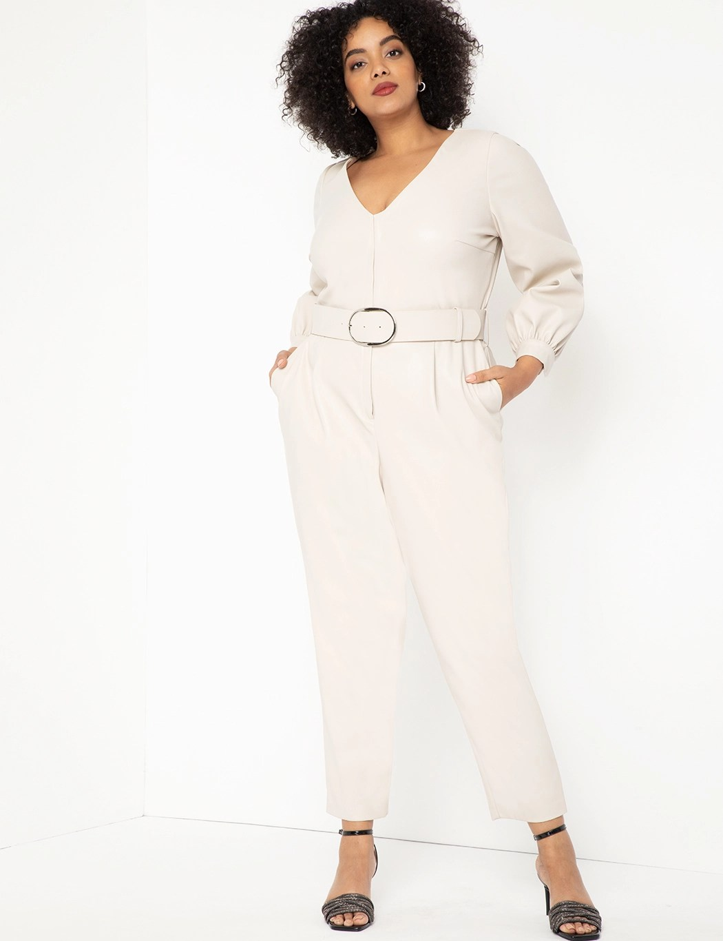 Faux Leather Jumpsuit 5