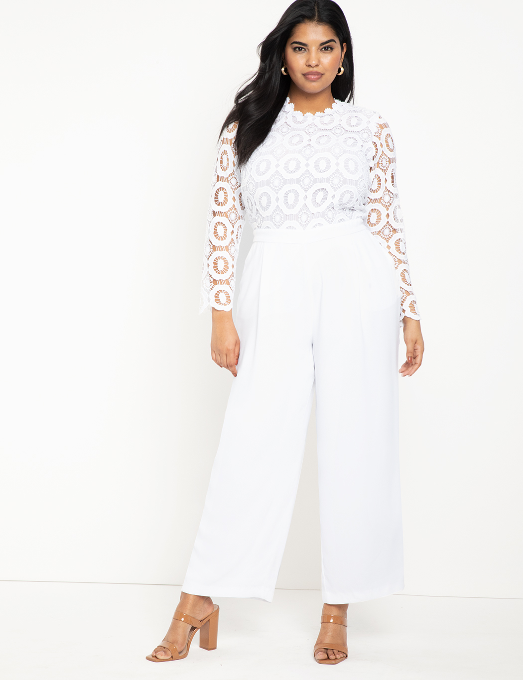 Lace Wide Leg Jumpsuit 4