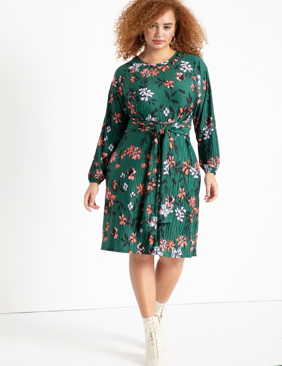 Tie Front Easy Dress 5