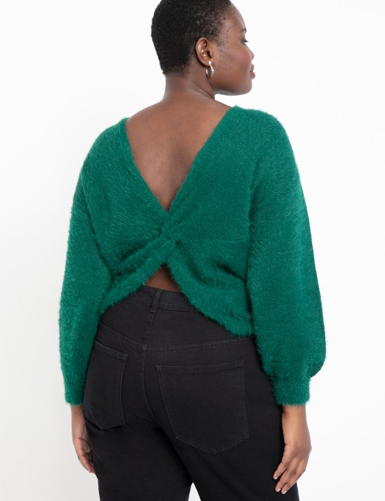 Twist Back Sweater 6