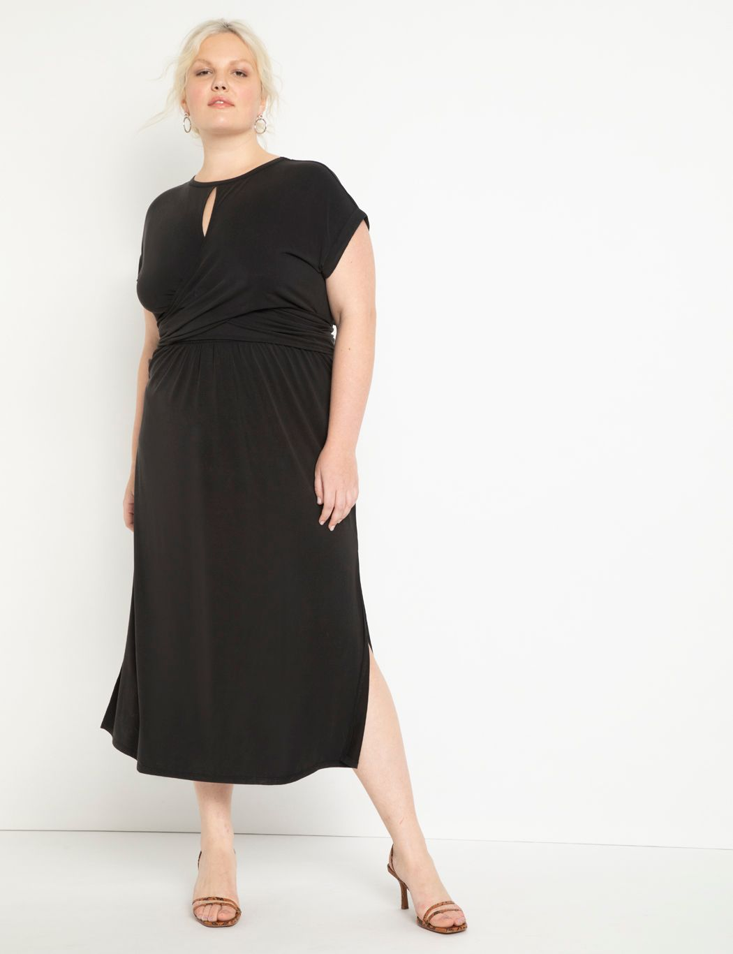 Cinched Bodice Dress