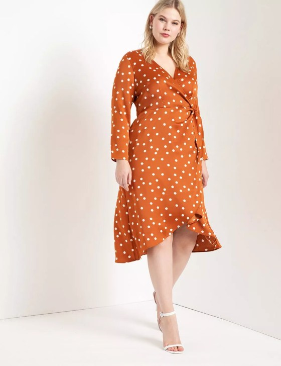 Tulip Hem Wrap Dress 2