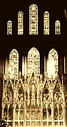 Earthlore Gothic Architecture: The Presbytery at Ely Cathedral.
