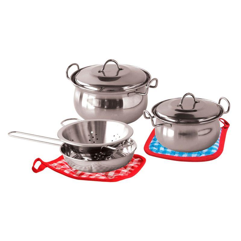 Set de cocina 8 piezas metal