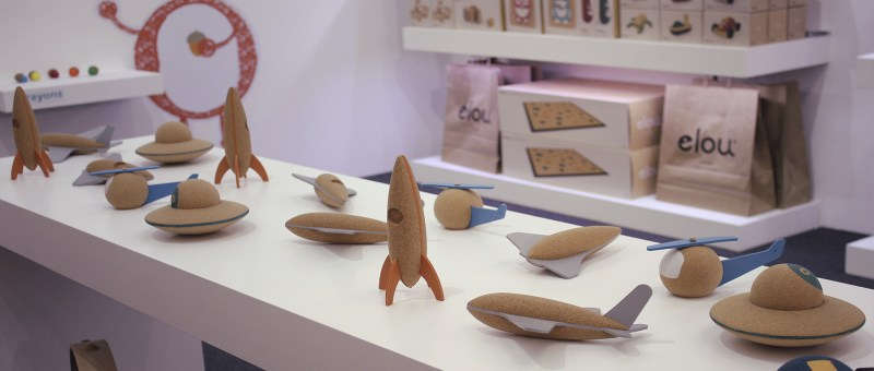 elou cork toys at Spielwarenmesse 2019