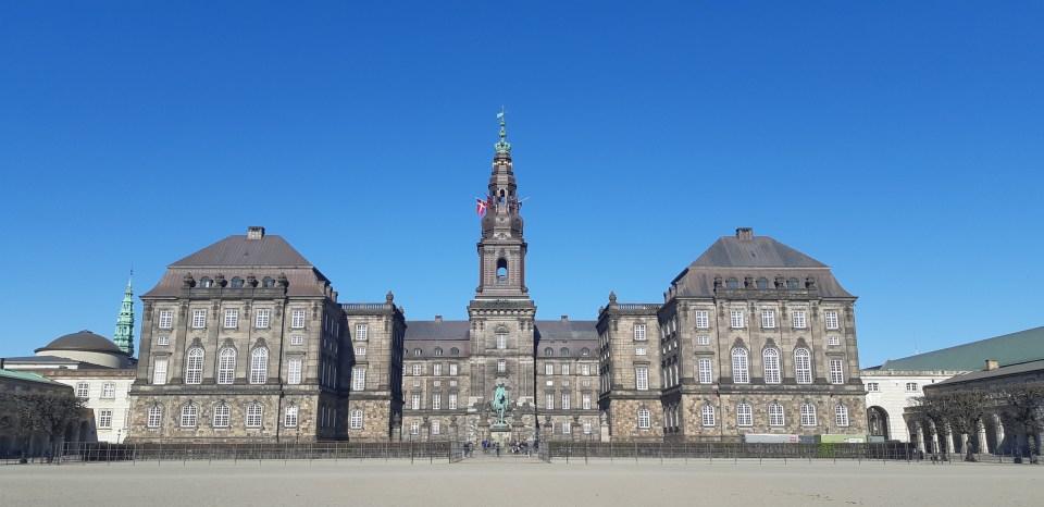 Palais de ChristianBorg Copenhague