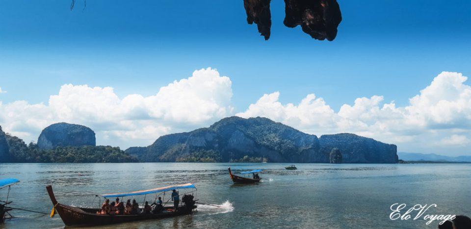 ile koh lanta bateau thaïlande