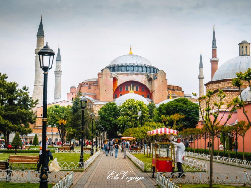 basilique Saint-Sophie Istanbul