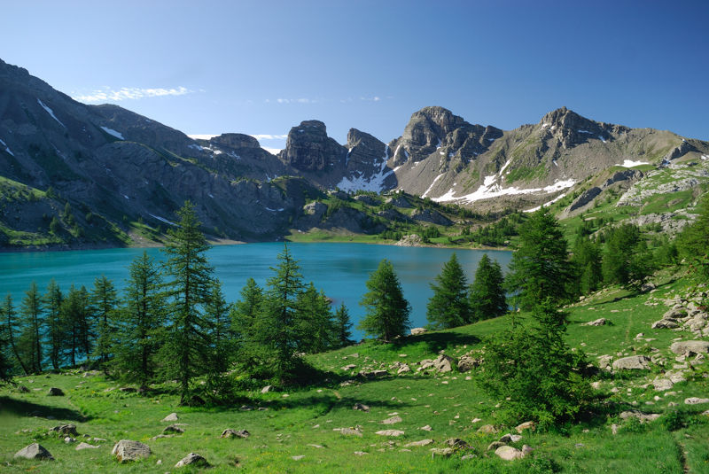 Lac Allos montagne